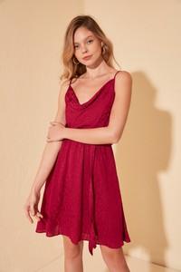 Sukienka Trendyol mini z dekoltem w kształcie litery v