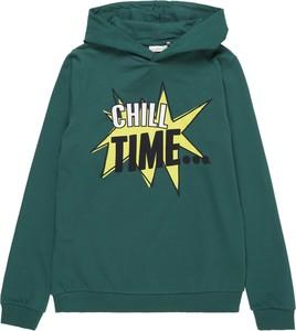 Zielona bluza dziecięca Name it z bawełny