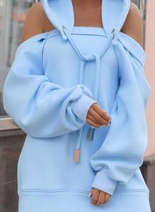Sukienka Sandbella z dresówki mini