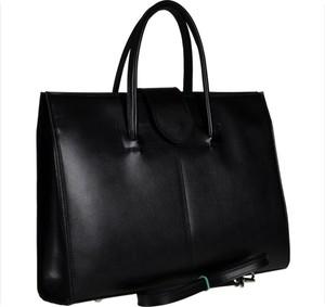 Czarna torebka vezze do ręki duża lakierowana