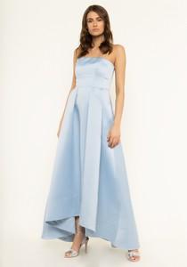 Niebieska sukienka Pinko