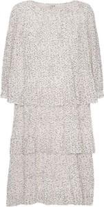 Sukienka A-view z długim rękawem