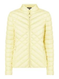 Żółta kurtka Esprit w stylu casual krótka