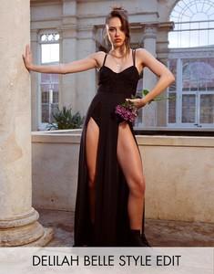 Sukienka Asos gorsetowa