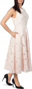 Sukienka Ted Baker maxi rozkloszowana