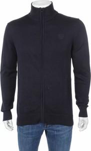 Granatowy sweter SCHOTT
