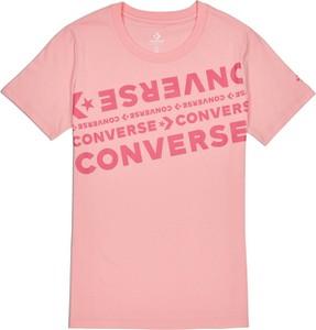 T-shirt Converse w młodzieżowym stylu