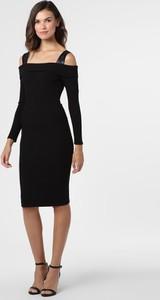 Czarna sukienka Guess z dżerseju