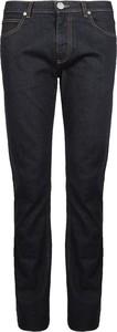 Niebieskie jeansy Versace Jeans z jeansu
