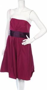 Różowa sukienka Zero bez rękawów mini