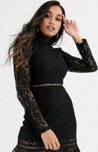 Czarna sukienka Fashion Union Petite