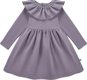Fioletowa sukienka dziewczęca Tuszyte