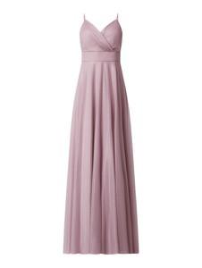 Sukienka Troyden Collection maxi z dekoltem w kształcie litery v na ramiączkach