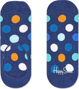 Niebieskie skarpetki Happy Socks w stylu casual