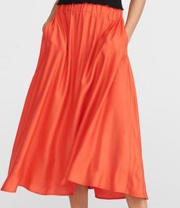 Pomarańczowa spódnica Reserved midi