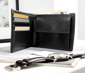 Czarny portfel męski Tchibo