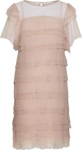 Sukienka Poza z krótkim rękawem