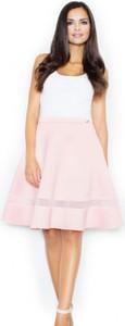 Różowa spódnica Figl midi