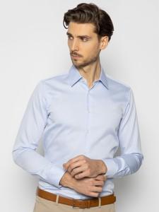 Niebieska koszula Joop! z długim rękawem
