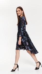 Sukienka Top Secret midi asymetryczna