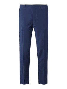 Granatowe spodnie Drykorn z wełny