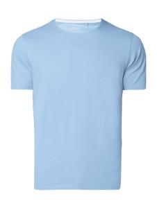 Niebieski t-shirt S.Oliver Red Label z bawełny w stylu casual