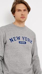 Bluza Diverse z bawełny w młodzieżowym stylu