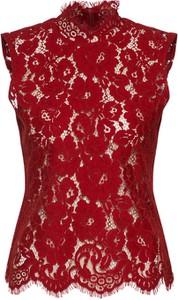 Bordowa bluzka Ivy & Oak z bawełny bez rękawów