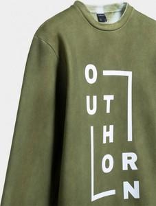 Bluza Outhorn z bawełny z nadrukiem