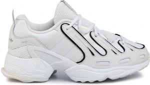 Buty sportowe Adidas Originals ze skóry sznurowane eqt support