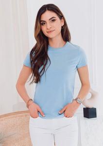 Bluzka Edoti w stylu casual z krótkim rękawem