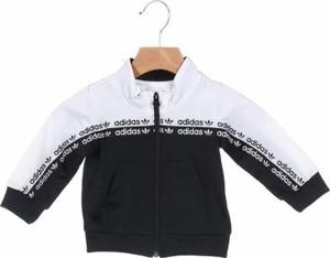 Czarna bluza dziecięca Adidas Originals dla chłopców