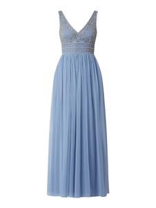Sukienka Lace & Beads maxi na ramiączkach