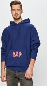 Bluza Gap z dzianiny w młodzieżowym stylu