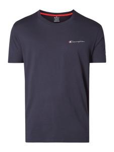 Niebieski t-shirt Champion z bawełny