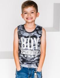 Koszulka dziecięca Ombre Clothing z bawełny