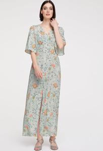 Sukienka Heine maxi z krótkim rękawem