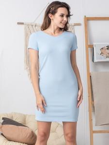 Sukienka Grandio z krótkim rękawem ołówkowa mini