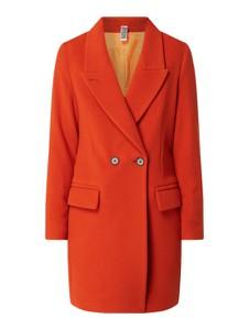 Czerwony płaszcz Drykorn