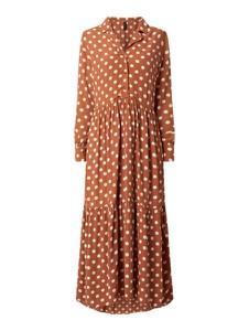 Sukienka YAS koszulowa z długim rękawem