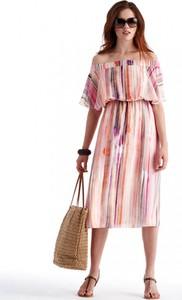 Sukienka POTIS & VERSO w stylu casual z tkaniny