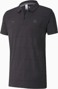 Koszulka polo Puma z krótkim rękawem w sportowym stylu