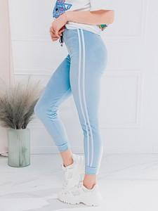 Spodnie Edoti w sportowym stylu z dresówki