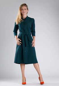 Zielona sukienka Nommo midi