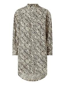 Sukienka Vero Moda z bawełny z kołnierzykiem mini
