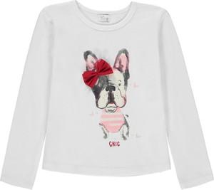 Bluzka dziecięca Königsmühle z długim rękawem dla dziewczynek