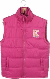 Różowa kamizelka dziecięca Kickers