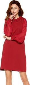 Czerwona sukienka Lemoniade mini w stylu casual