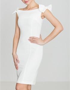 Sukienka LENITIF z odkrytymi ramionami