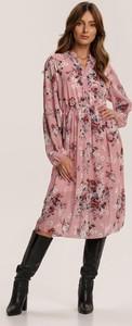 Sukienka Renee z długim rękawem midi